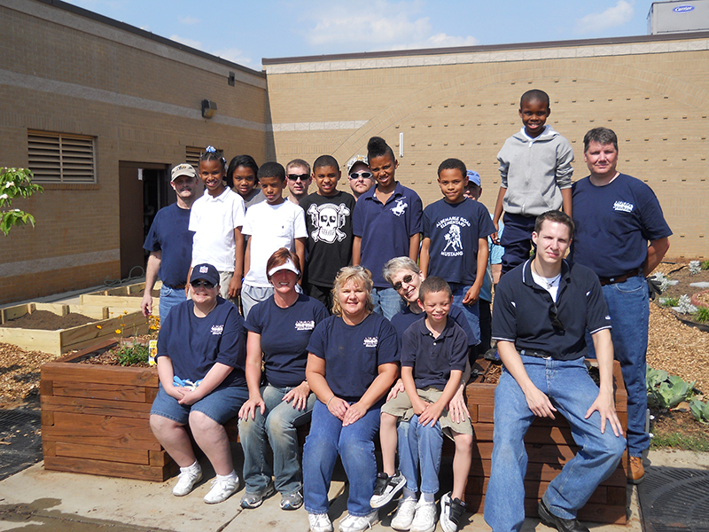 Albermarle Road Elementary Beautification
