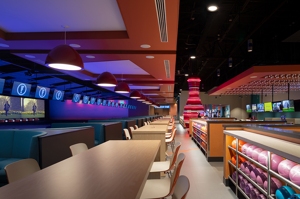 Bowling Alley Screens